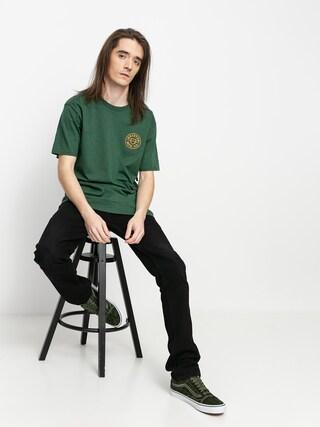 Tricou Brixton Crest X Stt (hunter green)