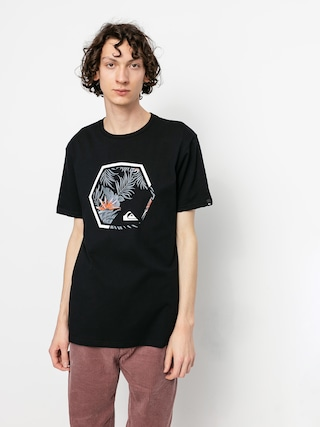 Quiksilver Tricou Fading Out (black)
