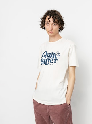 Quiksilver Tricou Tall Heights (snow white)
