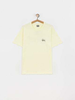 Stussy Tricou Basic (pale yellow)