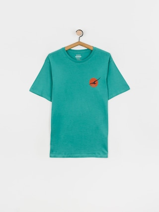 RVCA Tricou Bliss (turquoise)