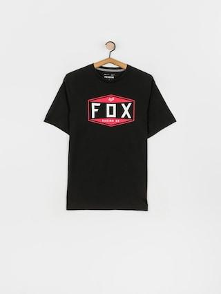 Fox Tricou Emblem Tech (blk)