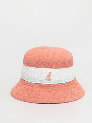 Kangol Pu0103lu0103rie Bermuda Stripe Bucket (peach pink)