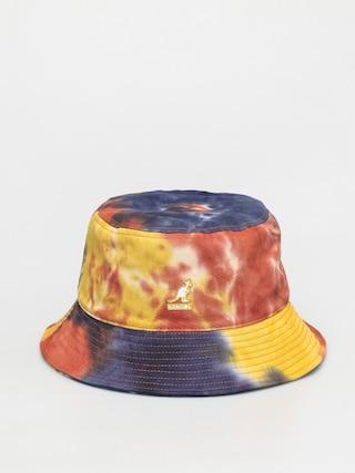 Kangol Pu0103lu0103rie Tie Dye Bucket (golden palm)