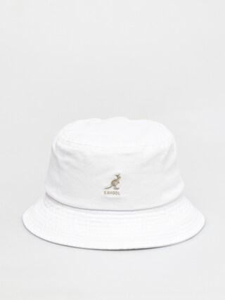 Pu0103lu0103rie Kangol Washed Bucket (white)