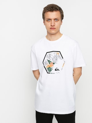 Tricou Quiksilver Fading Out (white)