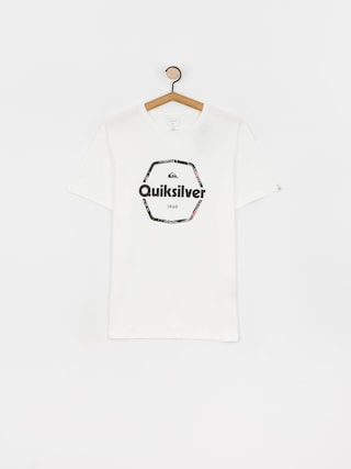 Quiksilver Tricou Hard Wired (white)