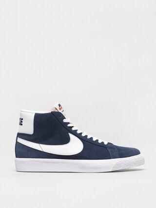 Pantofi Nike SB Zoom Blazer Mid (navy/white black university red)