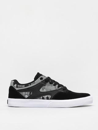 Pantofi DC Kalis Vulc S (black/charcoal camo)