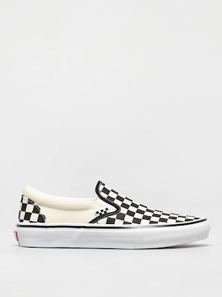 Pantofi Vans Skate Slip On (checkerboard black/off white)