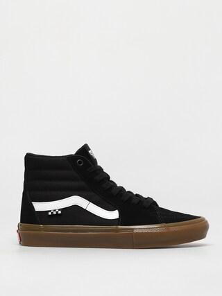 Pantofi Vans Skate Sk8 Hi (black/gum)