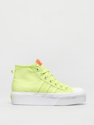 Pantofi adidas Originals Nizza Platform Mid Wmn (sefrye/ftwwht/solred)