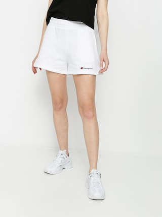 u0218ort Champion Regular High Waist Shorts 114354 Wmn (wht)