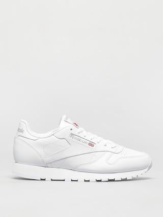 Pantofi Reebok Cl Lthr (white/white/lgtgre)