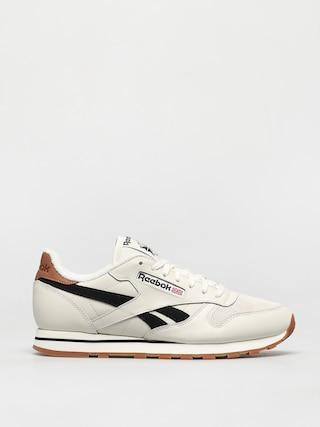 Pantofi Reebok Cl Lthr (chalk/black/chalk)