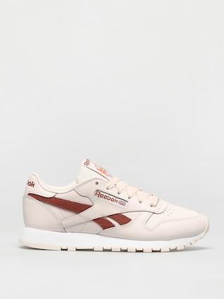 Pantofi Reebok Cl Lthr Wmn (cerpnk/white/bakear)