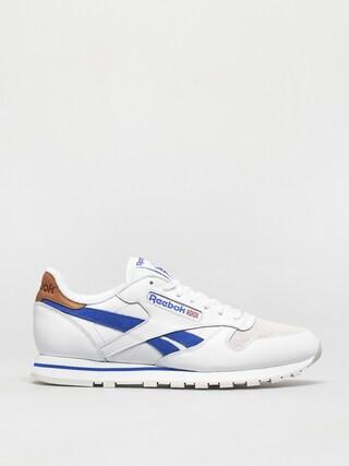 Pantofi Reebok Cl Lthr (white/coublu/morfog)