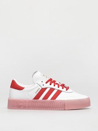 Pantofi adidas Originals Sambarose Wmn (ftwwht/vivred/trupnk)
