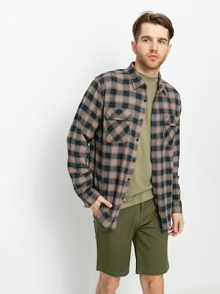 Cu0103mau0219u0103 Brixton Bowery Lw X Flannel (pine bark)