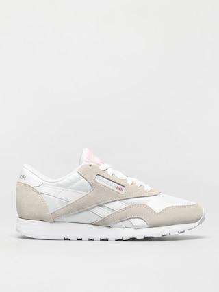 Pantofi Reebok Cl Nylon Wmn (white/white/lgtgre)