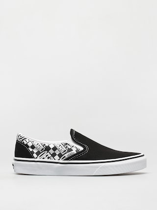 Pantofi Vans Classic Slip On (off the wall black/asphalt)