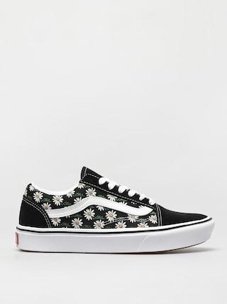 Pantofi Vans Comfycush Old Skool (scribble flower daisy/black)