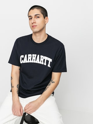 Tricou Carhartt WIP University (dark navy/white)