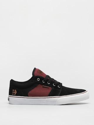 Pantofi Etnies Barge Ls (black/red/beige)