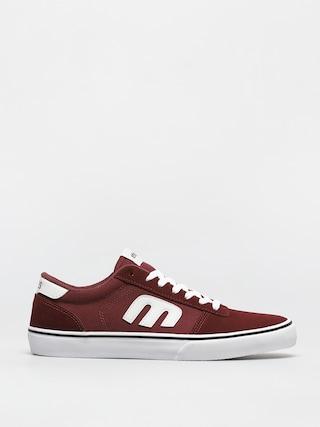Pantofi Etnies Calli Vulc (burgundy/white)