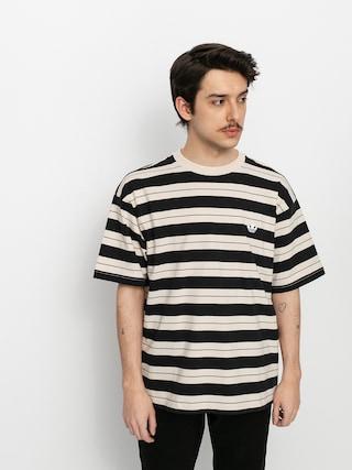 Tricou adidas Yarn Dye (black/halivo/greoxi)