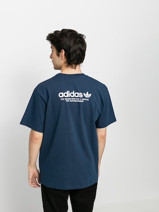 adidas Tricou 4 0 Logo (crenav/white)