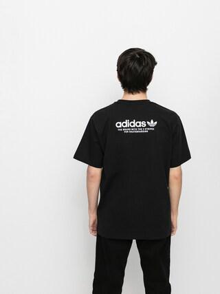 Tricou adidas 4 0 Logo (black/white)