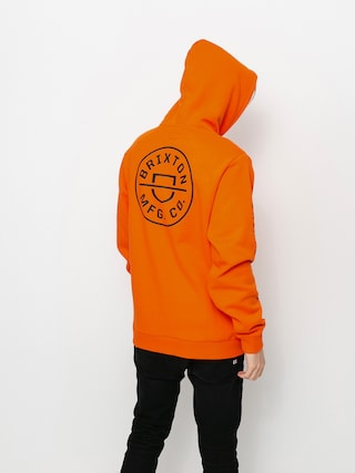 Hanorac cu glugu0103 Brixton Crest HD (carrot)