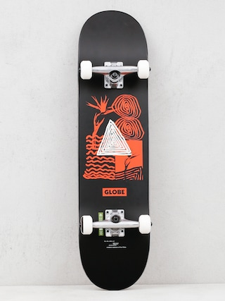 Globe Skateboard G1 Fairweather (black/red)