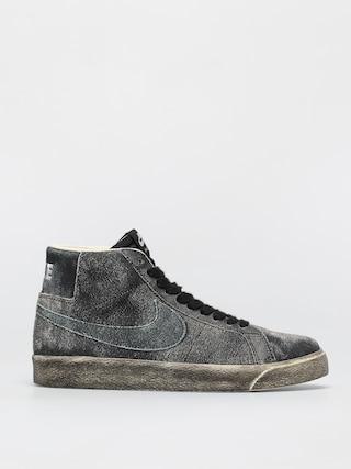 Pantofi Nike SB Zoom Blazer Mid Premium (black/light dew coconut milk light dew)
