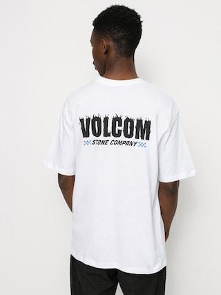 Volcom Tricou Companystone (white)