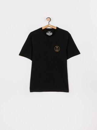 Volcom Tricou Inner Stone (black)