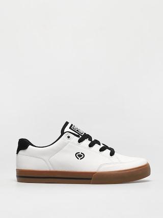 Pantofi Circa Al 50 Slim (white/black/gum)