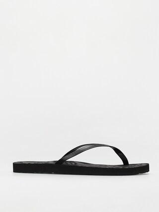 papuci de plaju0103 Volcom Color Me Spring Wmn (black out)