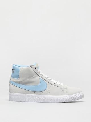 Pantofi Nike SB Zoom Blazer Mid (photon dust/psychic blue photon dust)