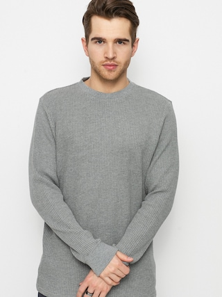 RVCA Tricou Day Shift Thermal (grey noise)
