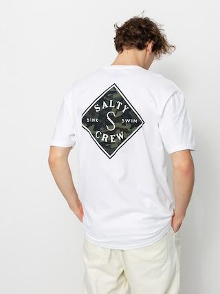 Salty Crew Tricou Tippet Decoy Standard (white)