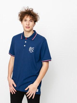 Tricou polo Prosto Mono (dark blue)