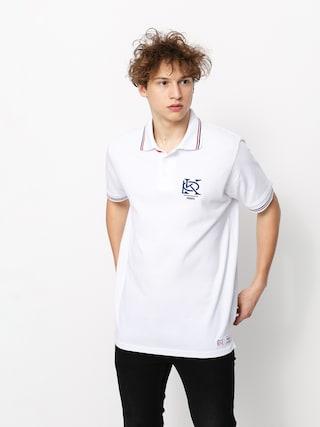 Tricou polo Prosto Mono (white)