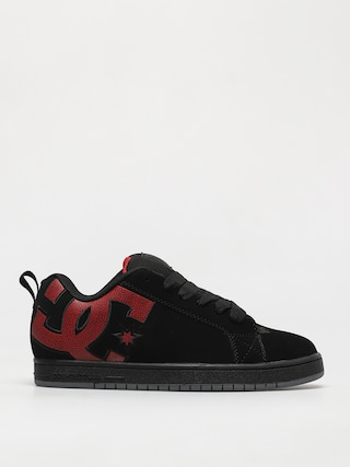 Pantofi DC Court Graffik (black/red print)