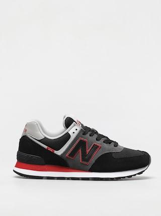 Pantofi New Balance 574 (black/red)