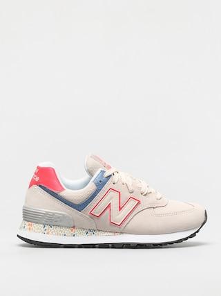 Pantofi New Balance 574 Wmn (beige)