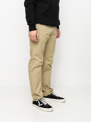RVCA Pantaloni The Weekend Stretch (khaki)
