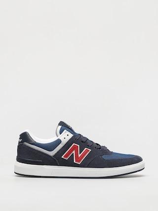 Pantofi New Balance All Coasts 574 (navy/red)