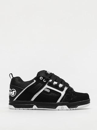 Pantofi DVS Comanche (black white leather nubuck)